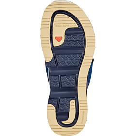 Salomon RX Break 4.0 Recovery Slides Heren, navy blazer/poseidon/taos taupe
